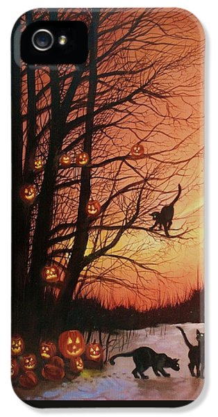 The Pumpkin Tree IPhone 5 Case