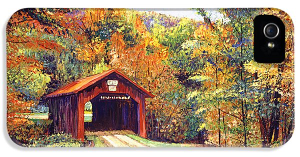 The Red Covered Bridge IPhone 5 Case