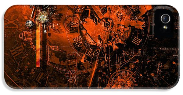 The Redemption Of The Technical And Digital World IPhone 5 Case by Franziskus Pfleghart