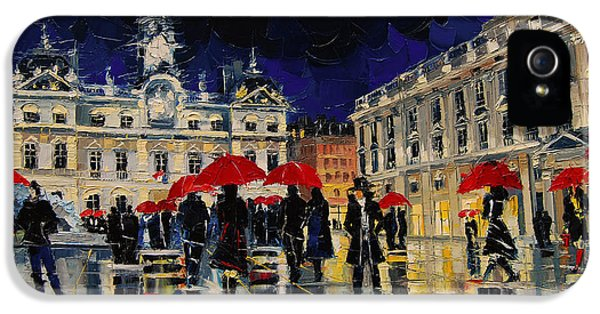 The Rendezvous Of Terreaux Square In Lyon IPhone 5 Case