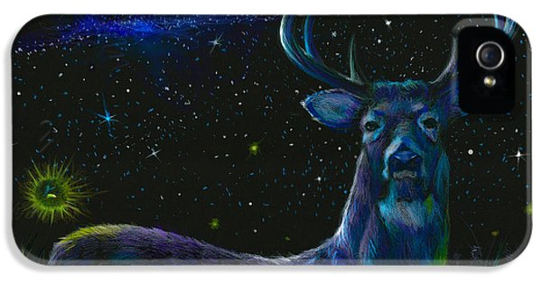 The Serenity Of The Night  IPhone 5 Case