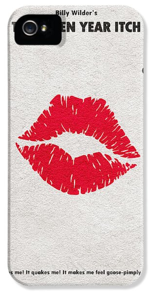The Seven Year Itch IPhone 5 Case by Ayse Deniz