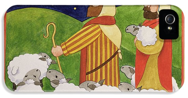 The Shepherds IPhone 5 Case by Linda Benton