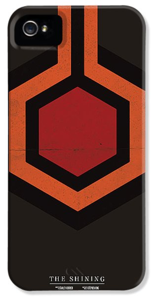 Jack Nicholson iPhone 5 Case - The Shining by Mike Taylor
