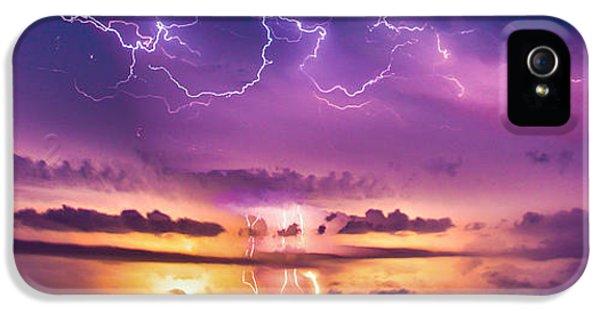 Nebraskasc iPhone 5 Case - The Sky Was Talking To Me... Part 2 by NebraskaSC