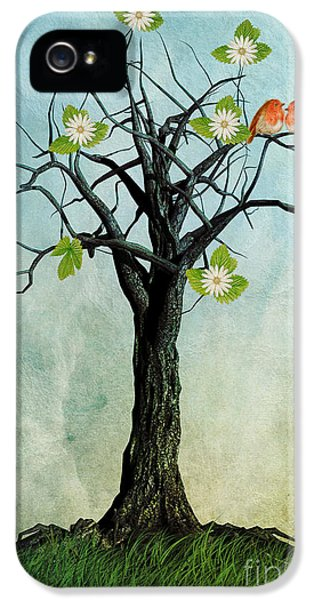The Song Of Spring IPhone 5 Case by John Edwards