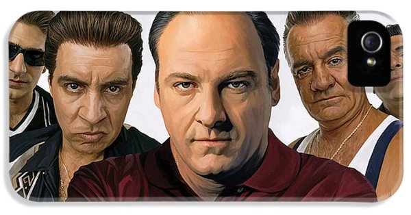 The Sopranos  Artwork 2 IPhone 5 / 5s Case by Sheraz A