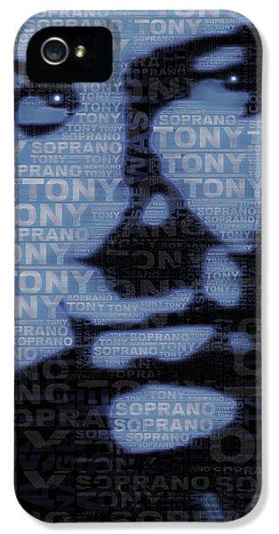 The Sopranos Tony Soprano IPhone 5 Case by Tony Rubino