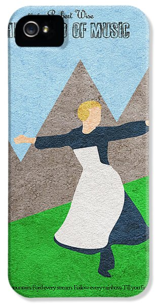 The Sound Of Music IPhone 5 Case by Ayse Deniz
