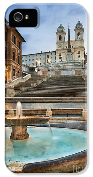 The Spanish Steps IPhone 5 Case by Rod McLean