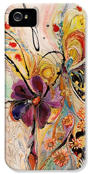 The Splash Of Life Series No 2 IPhone 5 Case by Elena Kotliarker