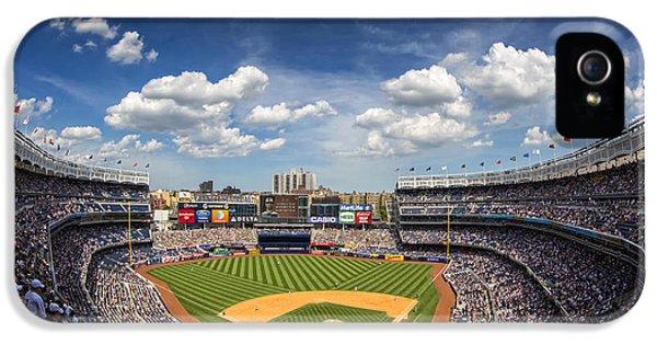 Yankee Stadium iPhone 5 Case - The Stadium by Rick Berk