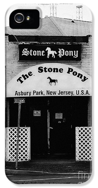 Bruce Springsteen iPhone 5 Case - The Stone Pony by Colleen Kammerer