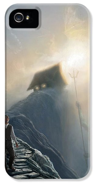 The Strange High House In The Mist IPhone 5 Case
