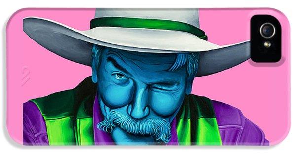 The Stranger- Color Edit- IPhone 5 Case