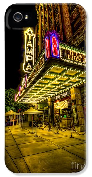 The Tampa Theater IPhone 5 Case by Marvin Spates