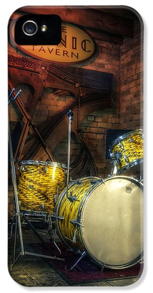Drum iPhone 5 Case - The Tonic Tavern by Scott Norris
