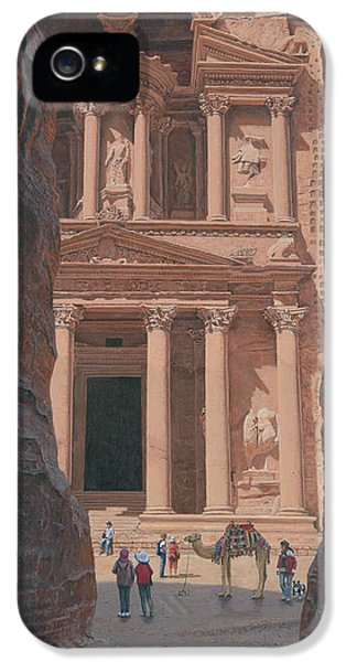 The Treasury Petra Jordan IPhone 5 Case