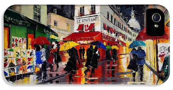 The Umbrellas Of Montmartre IPhone 5 Case