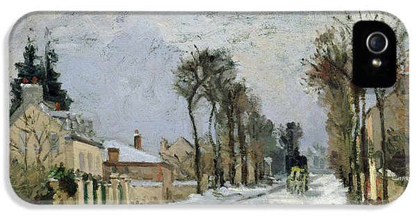 The Versailles Road At Louveciennes IPhone 5 Case