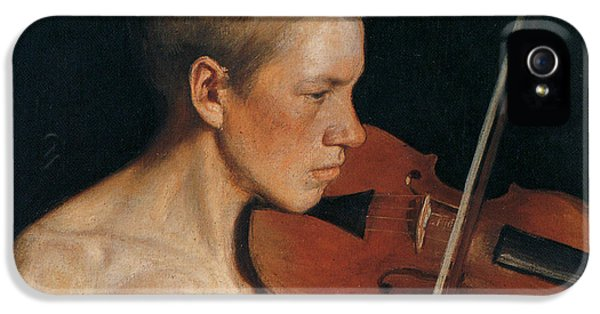 Violin iPhone 5 Case - The Violinist by Celestial Images