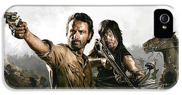 The Walking Dead Artwork 1 IPhone 5 Case