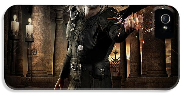The Warlock IPhone 5 Case by Shanina Conway