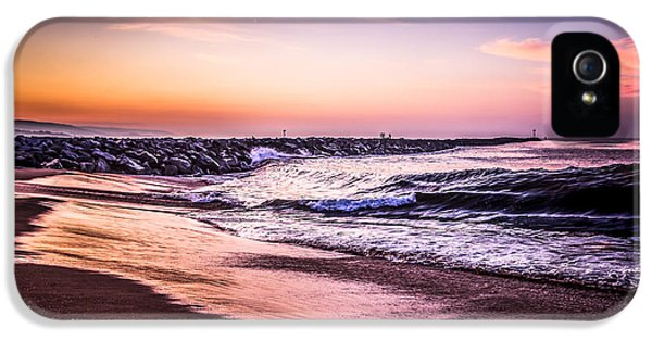 The Wedge Newport Beach California Picture IPhone 5 Case by Paul Velgos