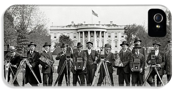 The White House Photographers IPhone 5 Case