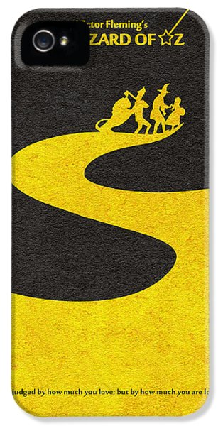 Wizard iPhone 5 Case - The Wizard Of Oz by Inspirowl Design