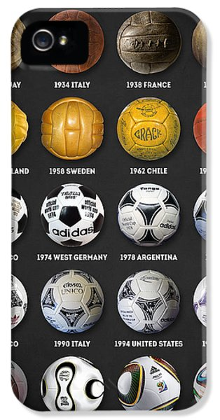 The World Cup Balls IPhone 5 Case by Taylan Apukovska