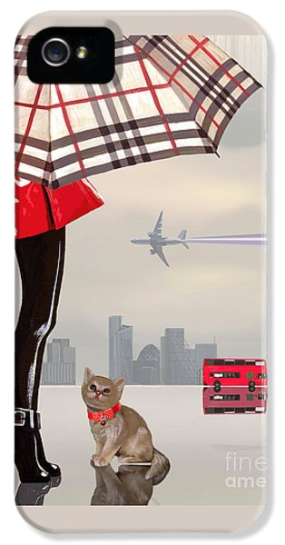The Young Londoner IPhone 5 Case by Victoria Fomina