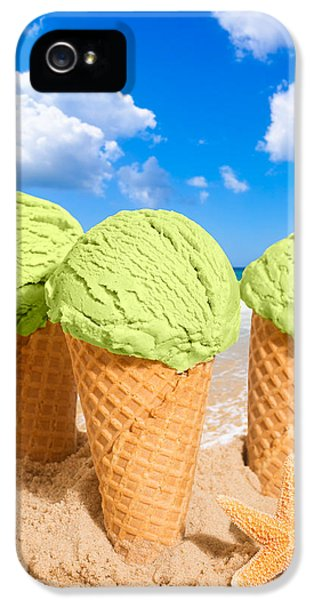 Thee Minty Icecreams IPhone 5 Case by Amanda Elwell