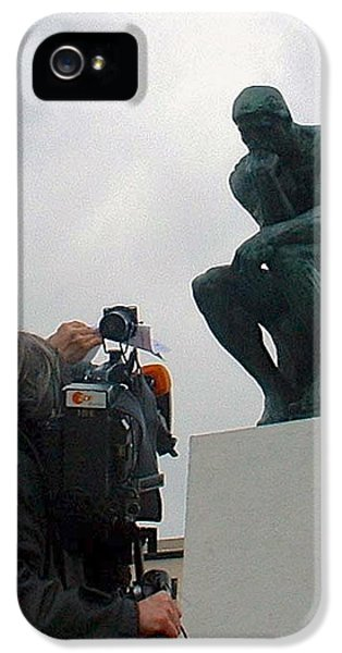 IPhone 5 Case featuring the photograph Thought Picture by Marc Philippe Joly