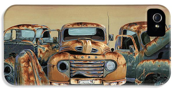 Truck iPhone 5 Case - Three Amigos by John Wyckoff