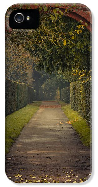 Through To The Autumn Gardens IPhone 5 Case by Chris Fletcher