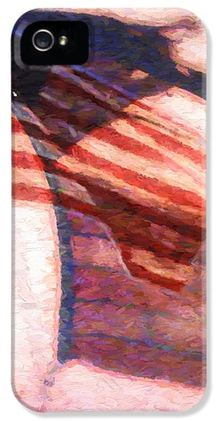Through War And Peace IPhone 5 Case by Bob Orsillo