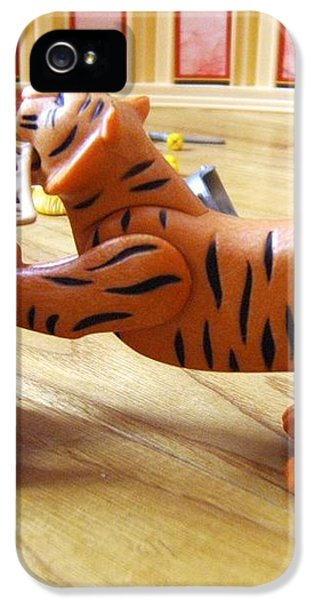 IPhone 5 Case featuring the photograph Tiger's Revenge by Marc Philippe Joly