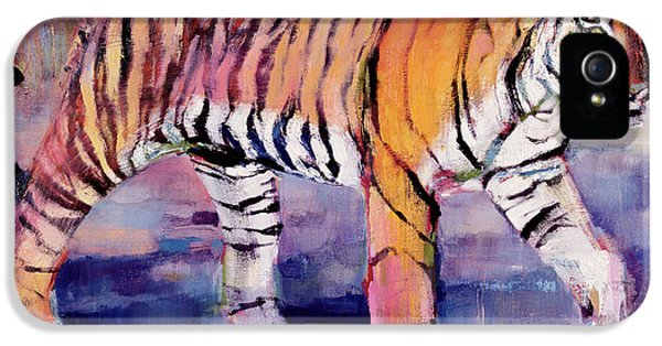 Tigress, Khana, India IPhone 5 / 5s Case by Mark Adlington