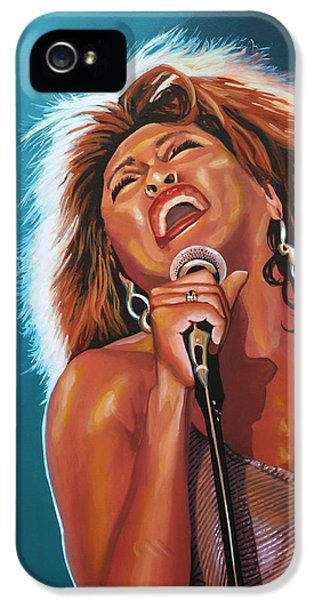 Tina Turner 3 IPhone 5 Case by Paul Meijering