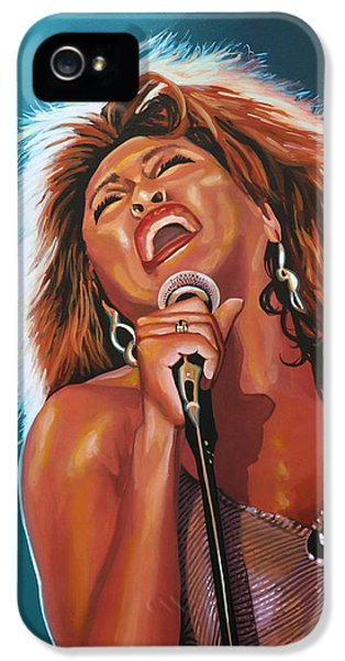 Rhythm And Blues iPhone 5 Case - Tina Turner 3 by Paul Meijering