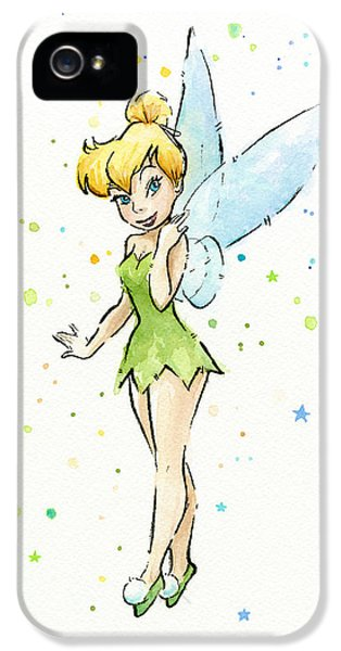 Fairy iPhone 5 Case - Tinker Bell by Olga Shvartsur