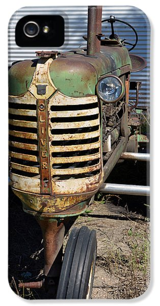 Oliver Tractor iPhone 5 Case - Tired Oliver by Renie Rutten