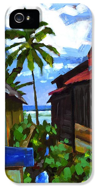 Tiririca Beach Shacks IPhone 5 Case