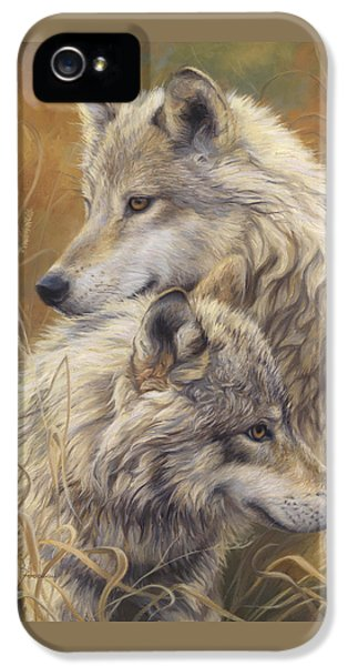 Together IPhone 5 Case by Lucie Bilodeau