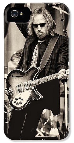 Rock And Roll iPhone 5 Case - Tom Petty by Marc Malin