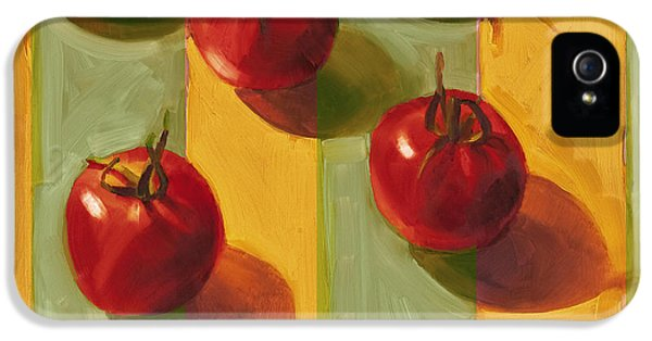 Tomatoes IPhone 5 Case by Cathy Locke