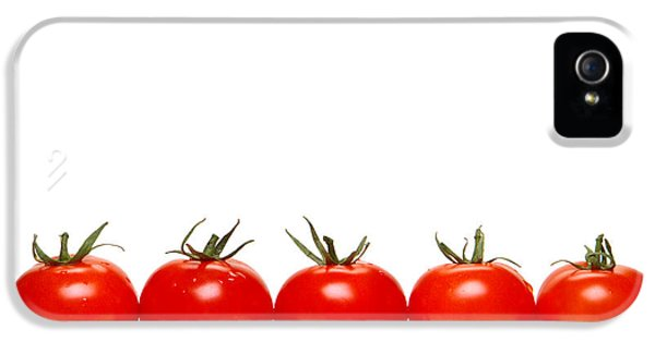 Tomatoes IPhone 5 Case by Olivier Le Queinec