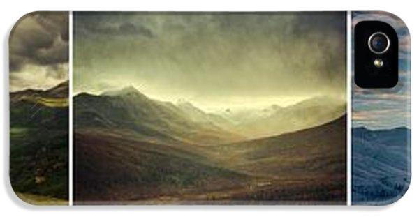 Tombstone Range Seasons IPhone 5 Case by Priska Wettstein