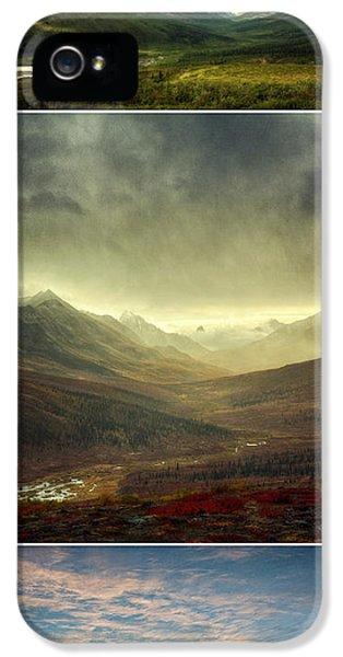 Tombstone Range Seasons Vertical IPhone 5 Case by Priska Wettstein